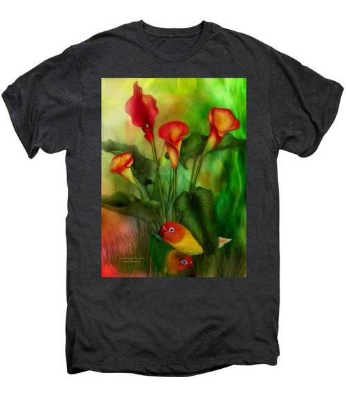 Love Among The Lilies  Men's Premium T-Shirt