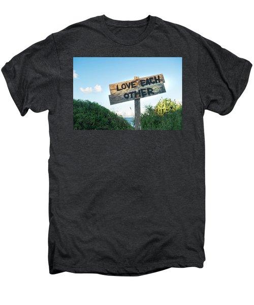 Love Each Other Men's Premium T-Shirt