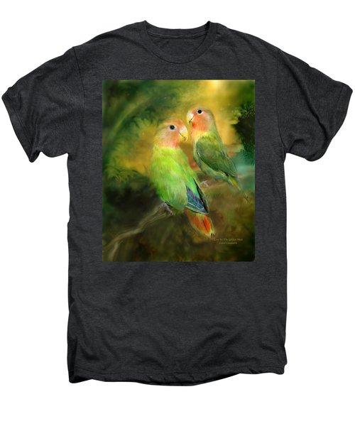 Love In The Golden Mist Men's Premium T-Shirt