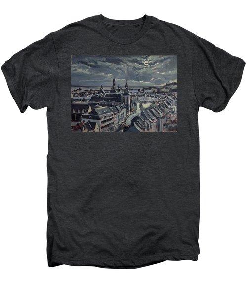 Maastricht By Moon Light Men's Premium T-Shirt
