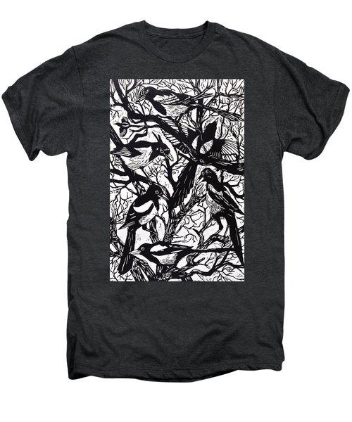 Magpies Men's Premium T-Shirt