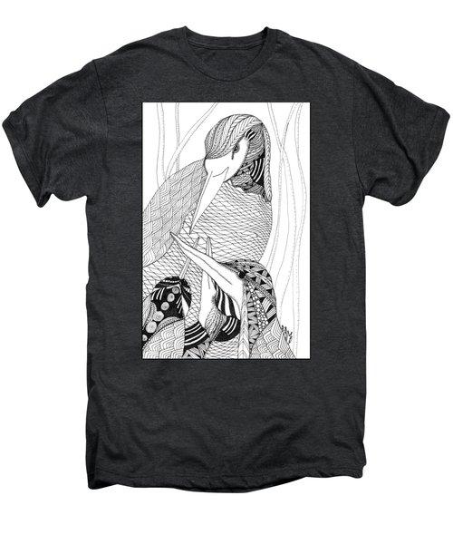 Mama Heron Men's Premium T-Shirt