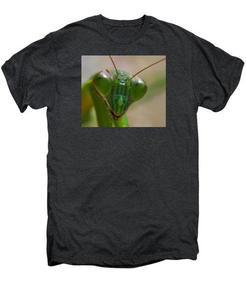 Mantis Face Men's Premium T-Shirt by Jonny D