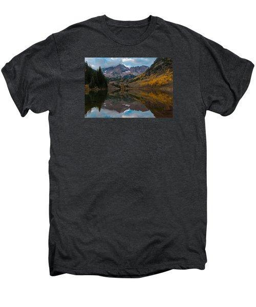 Maroon Bells Men's Premium T-Shirt