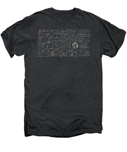 Maths Formula Men's Premium T-Shirt by Setsiri Silapasuwanchai