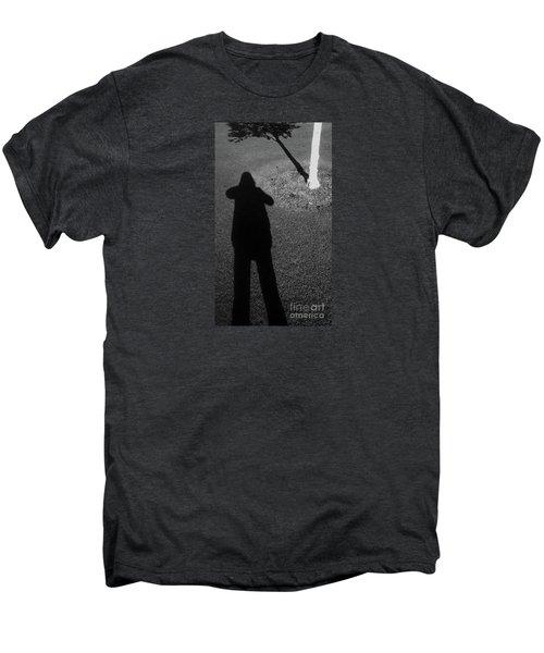Me And My Shadow Men's Premium T-Shirt by Nareeta Martin