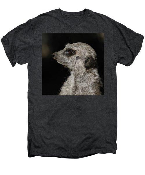 Meerkat Profile Men's Premium T-Shirt