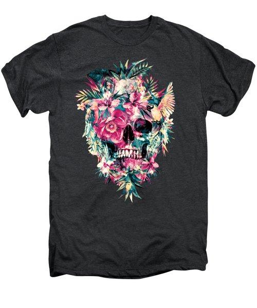 Memento Mori Men's Premium T-Shirt by Riza Peker