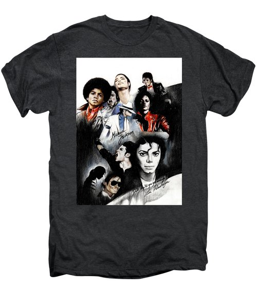 Michael Jackson - King Of Pop Men's Premium T-Shirt