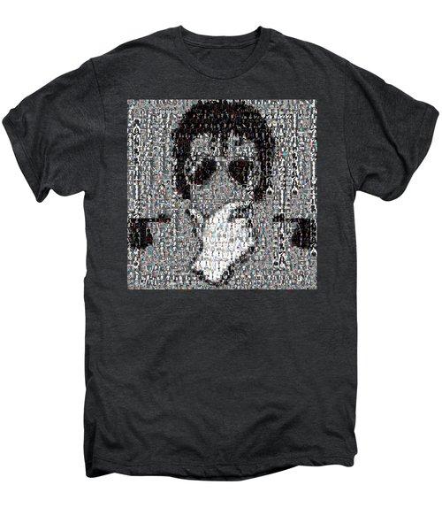 Michael Jackson Glove Montage Men's Premium T-Shirt