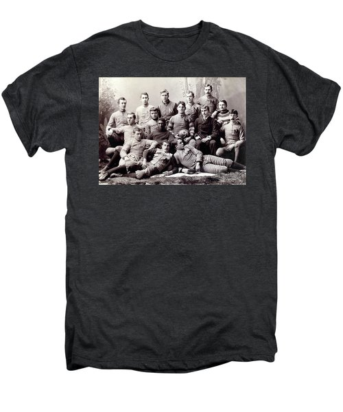 Michigan Wolverine Football Heritage 1890 Men's Premium T-Shirt