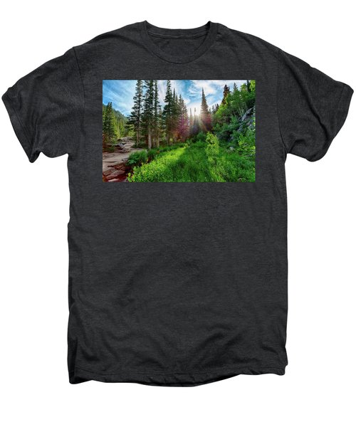 Men's Premium T-Shirt featuring the photograph Midsummer Dream by David Chandler