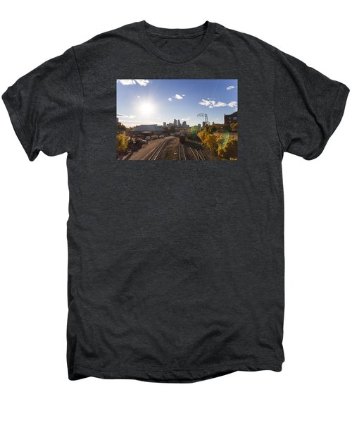 Minneapolis In The Fall Men's Premium T-Shirt by Zach Sumners