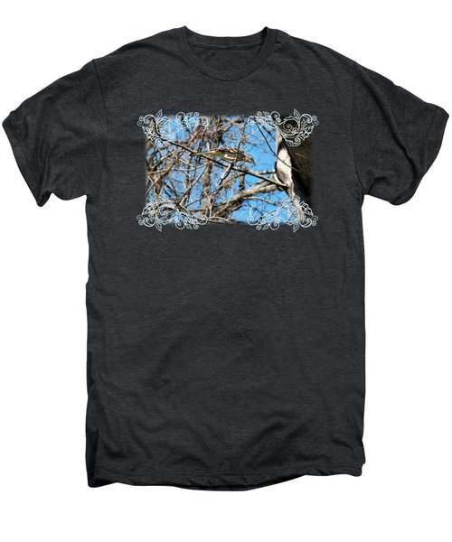Mockingbird Men's Premium T-Shirt by Katherine Nutt