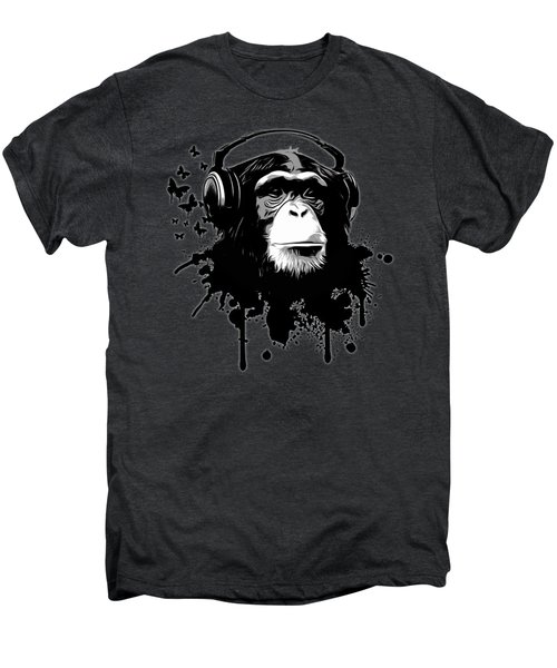 Monkey Business - Black Men's Premium T-Shirt by Nicklas Gustafsson