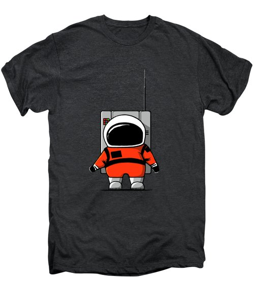 Moon Man Men's Premium T-Shirt by Nicholas Ely