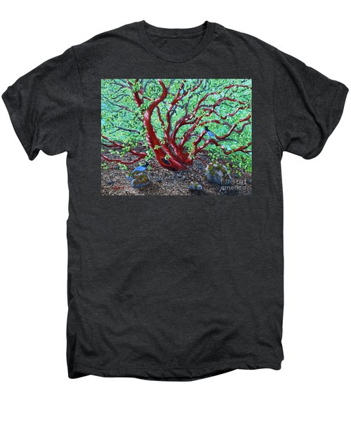 Morning Manzanita Men's Premium T-Shirt by Laura Iverson