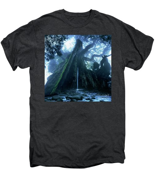 Mother Tree Men's Premium T-Shirt by Tatsuya Atarashi