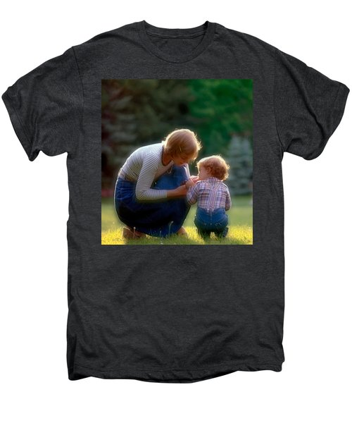 Mother With Kid Men's Premium T-Shirt