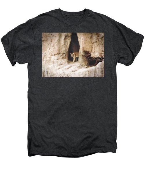 Mountain Lion - Light Men's Premium T-Shirt