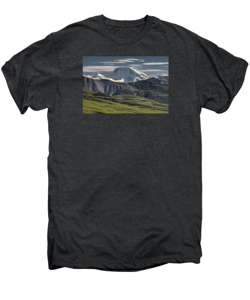 Men's Premium T-Shirt featuring the photograph Mt. Mather by Gary Lengyel