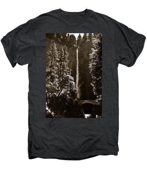 Multnomah Falls Men's Premium T-Shirt