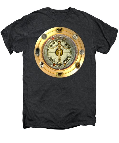 Mysteries Of The Ancient World By Pierre Blanchard Men's Premium T-Shirt by Pierre Blanchard