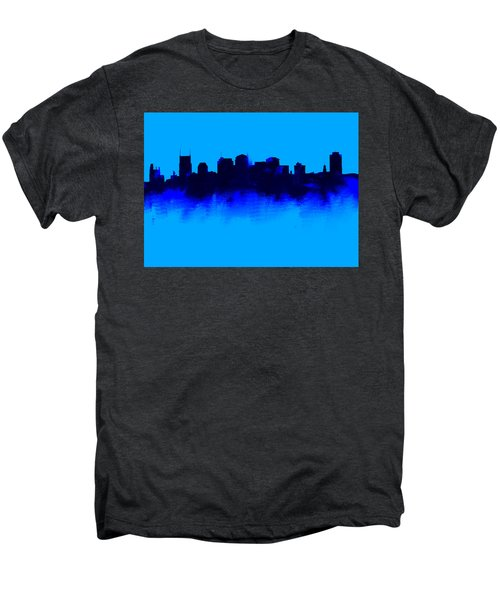 Nashville  Skyline Blue  Men's Premium T-Shirt