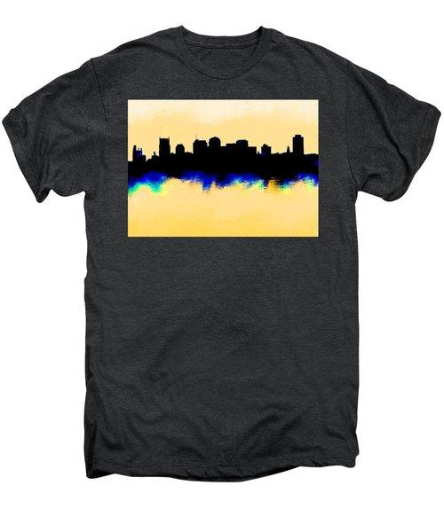 Nashville  Skyline  Men's Premium T-Shirt by Enki Art