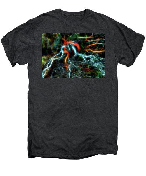 Neurons On Fire Men's Premium T-Shirt