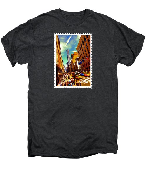New York City Hustle Men's Premium T-Shirt by Elaine Plesser