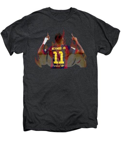 Neymar Men's Premium T-Shirt by Vincenzo Basile