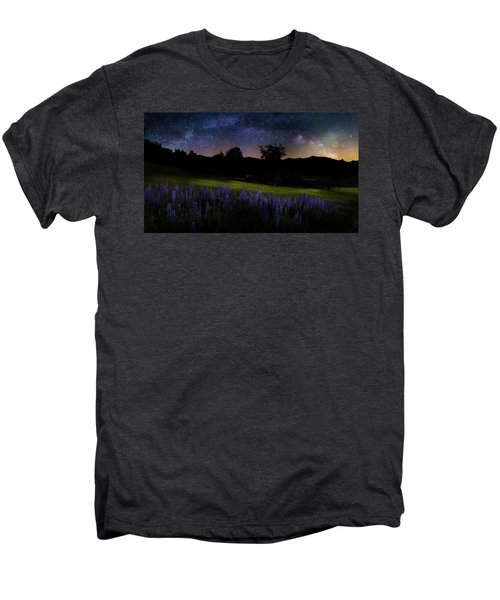 Men's Premium T-Shirt featuring the photograph Night Flowers by Bill Wakeley