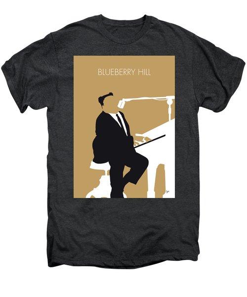 No190 My Fats Domino Minimal Music Poster Men's Premium T-Shirt