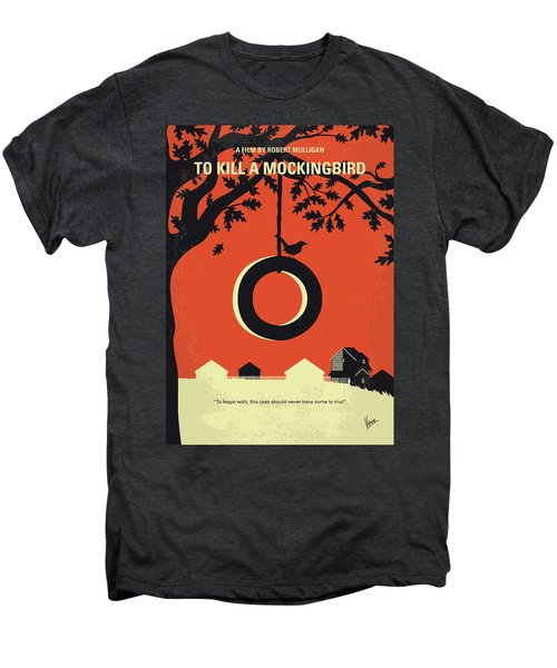 No844 My To Kill A Mockingbird Minimal Movie Poster Men's Premium T-Shirt