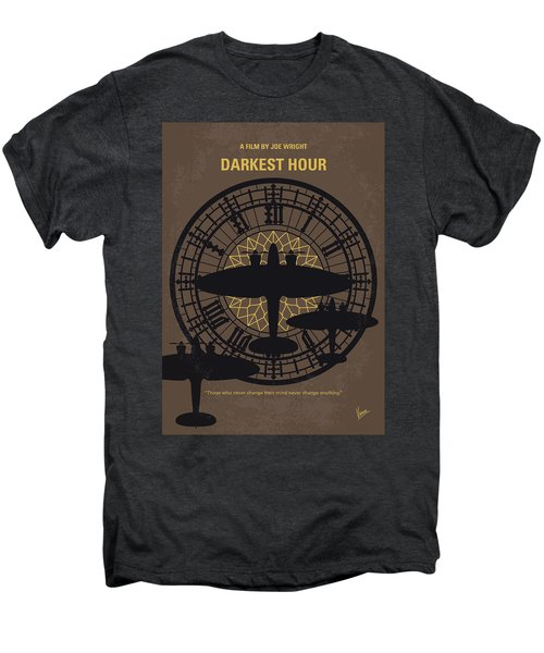 No901 My Darkest Hour Minimal Movie Poster Men's Premium T-Shirt