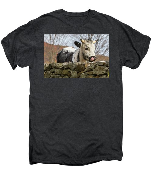 Men's Premium T-Shirt featuring the photograph Nosey by Bill Wakeley