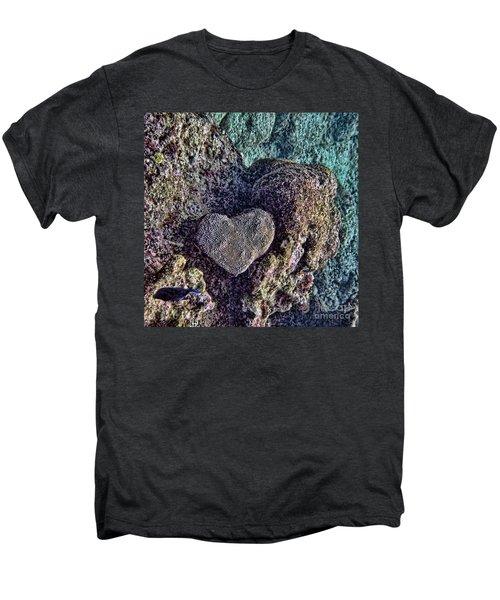 Ocean Love Men's Premium T-Shirt by Peggy Hughes