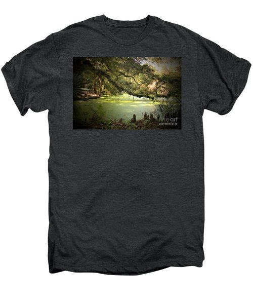 On Swamp's Edge Men's Premium T-Shirt