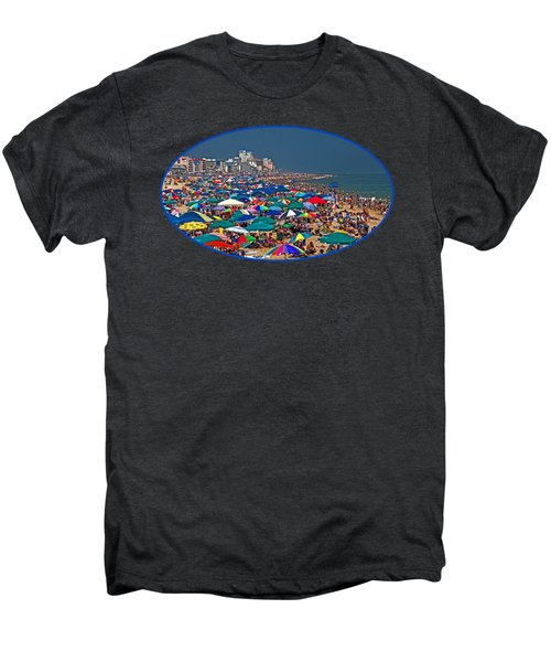 On The Beach In August Men's Premium T-Shirt