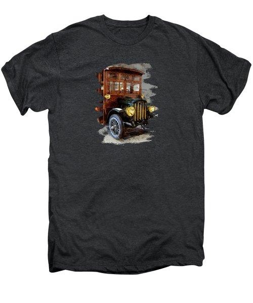 One Cool Stoughton Bus Men's Premium T-Shirt