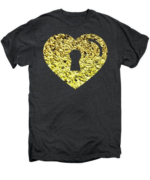 One Heart One Key 2 Men's Premium T-Shirt