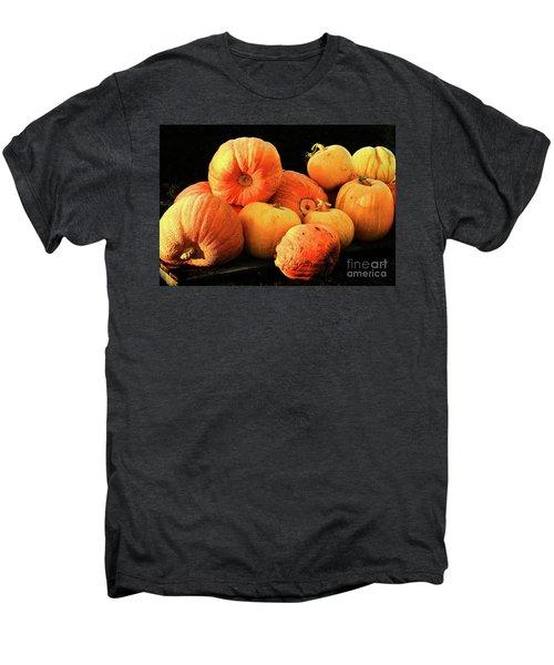 Orange Yellow Pumpkins Men's Premium T-Shirt