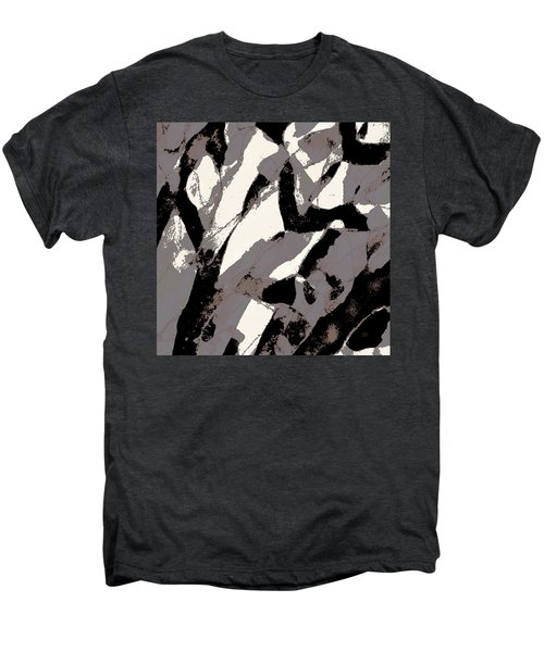 Organic No 2 Abstract Men's Premium T-Shirt