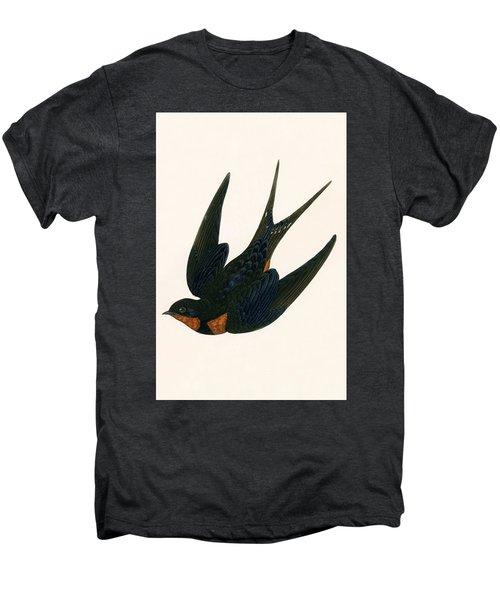 Oriental Chimney Swallow Men's Premium T-Shirt