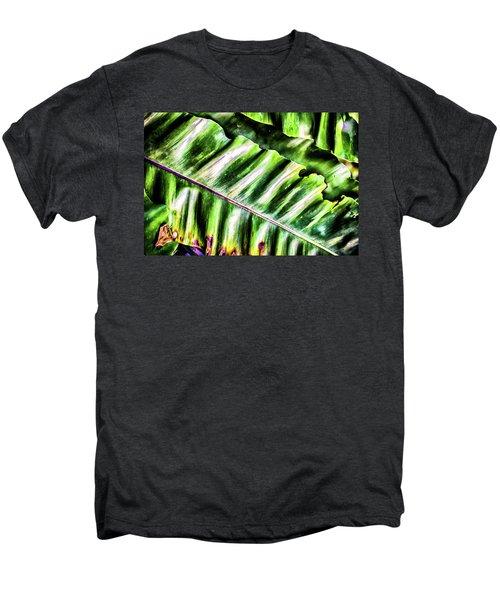 Palm Fronds Up Close Men's Premium T-Shirt