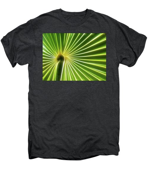 Palm Glow Men's Premium T-Shirt
