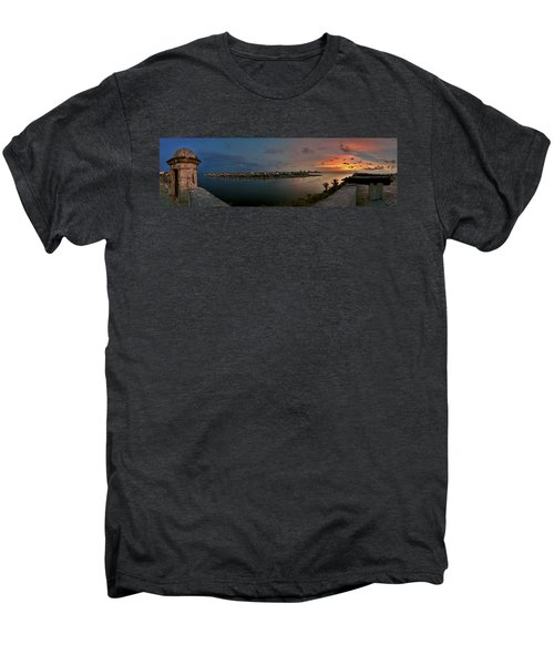 Panoramic View Of Havana From La Cabana. Cuba Men's Premium T-Shirt