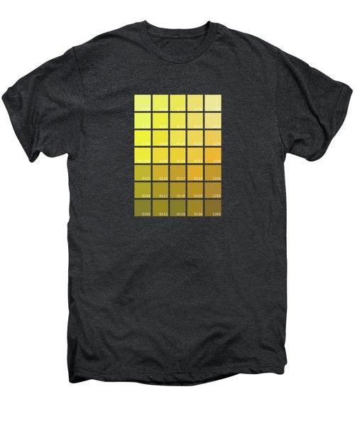Pantone Shades Of Yellow Men's Premium T-Shirt