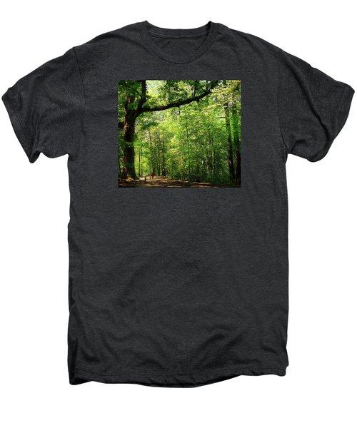 Paris Mountain State Park South Carolina Men's Premium T-Shirt by Bellesouth Studio